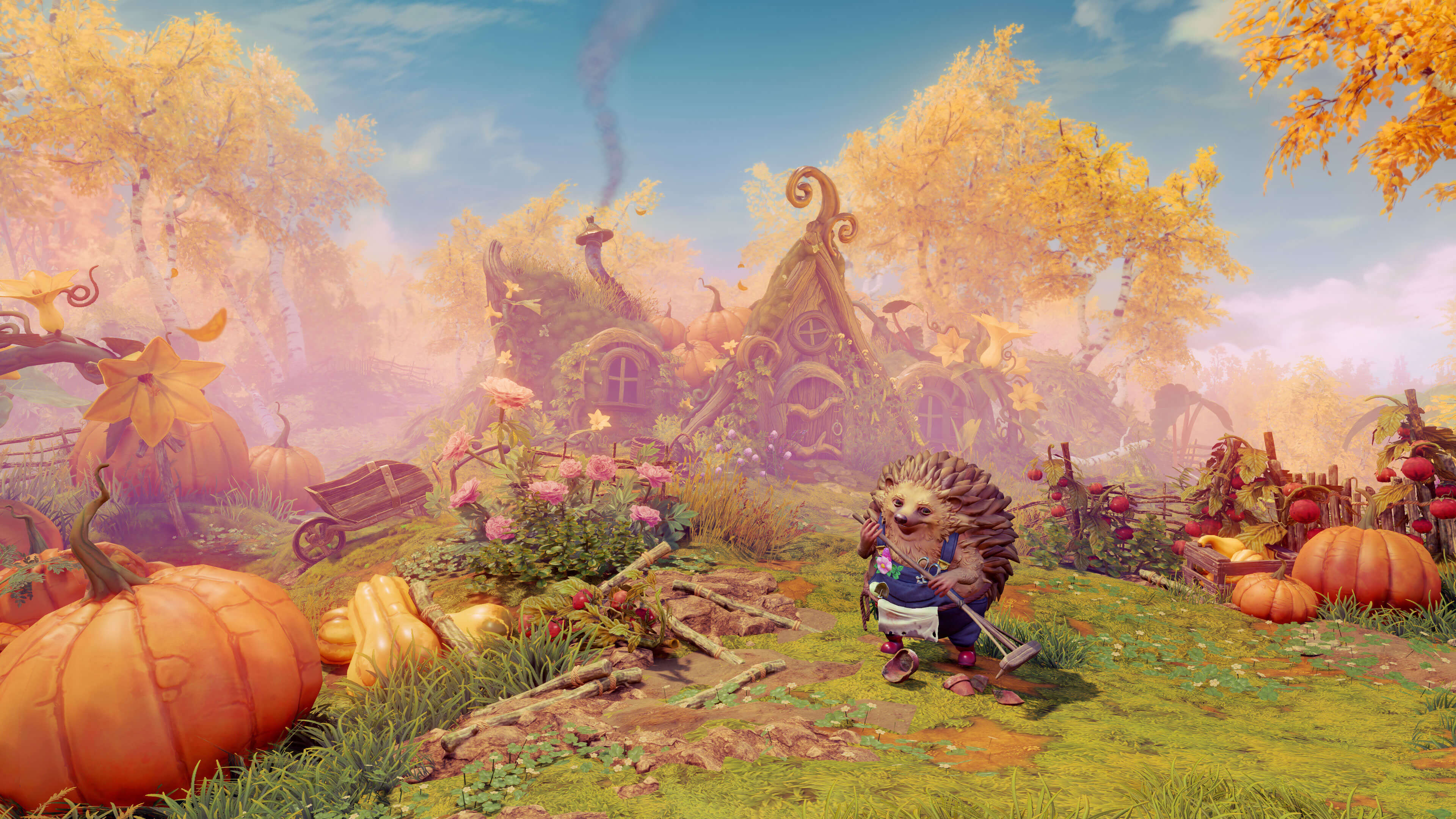 Trine 4: The Nightmare Prince landscapes