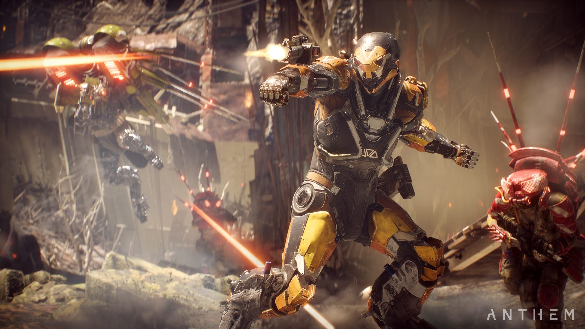 Anthem review - Javelins
