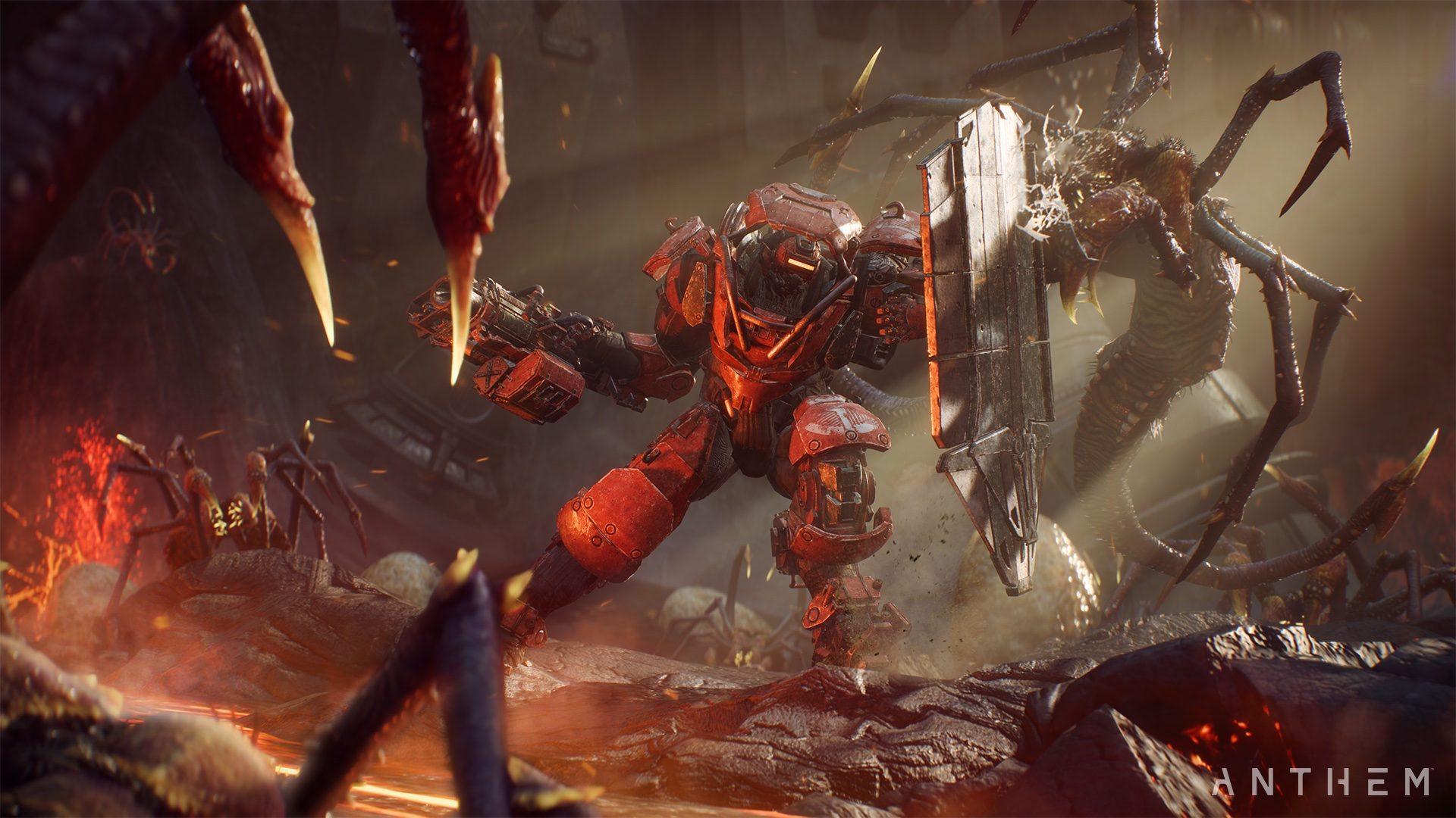 Anthem review - Tank