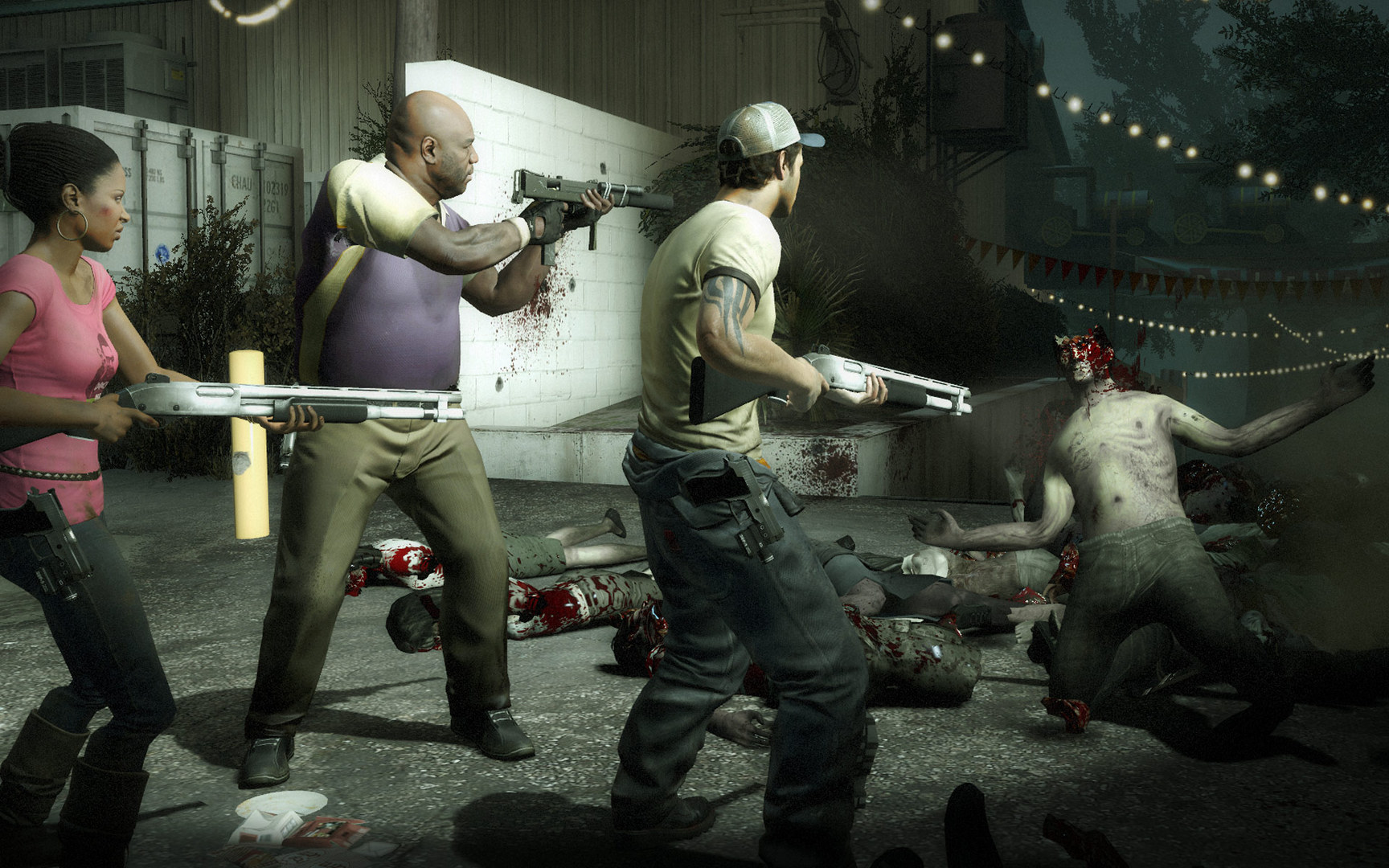 Left 4 Dead 2, not Back 4 Blood