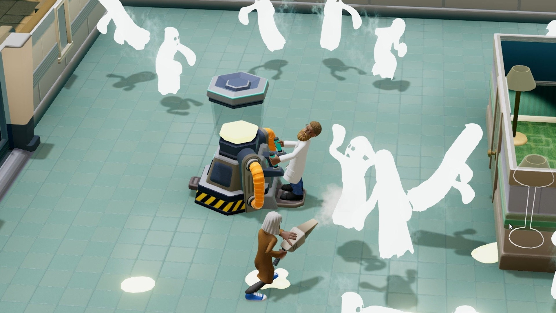 Two Point Hospital co-op