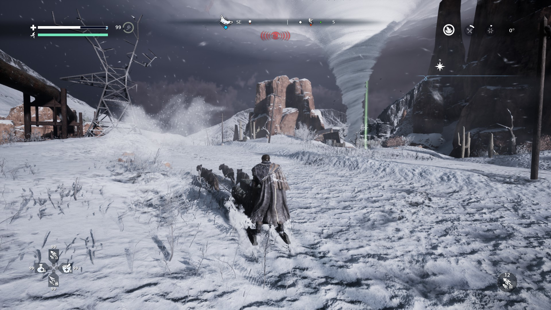 Survive in a Beautiful Frozen Wasteland