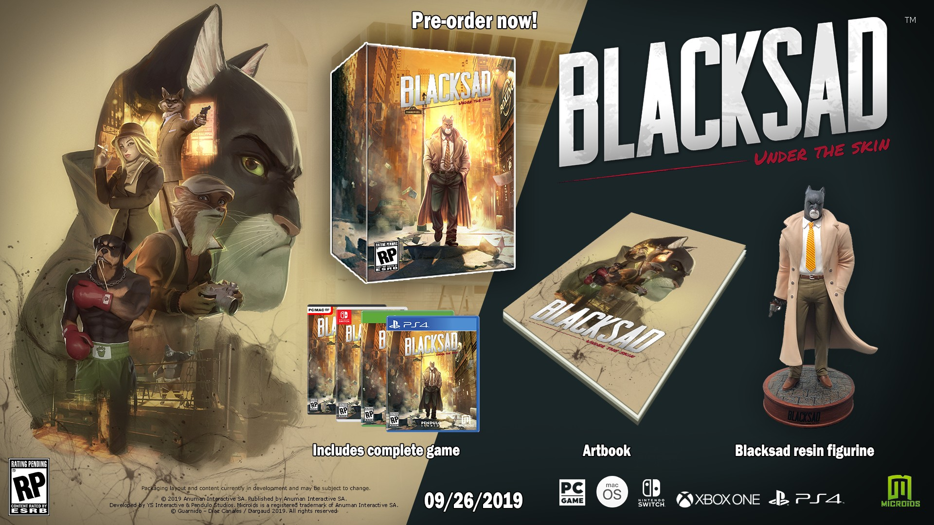 Blacksad: Under the Skin Collector's Edition