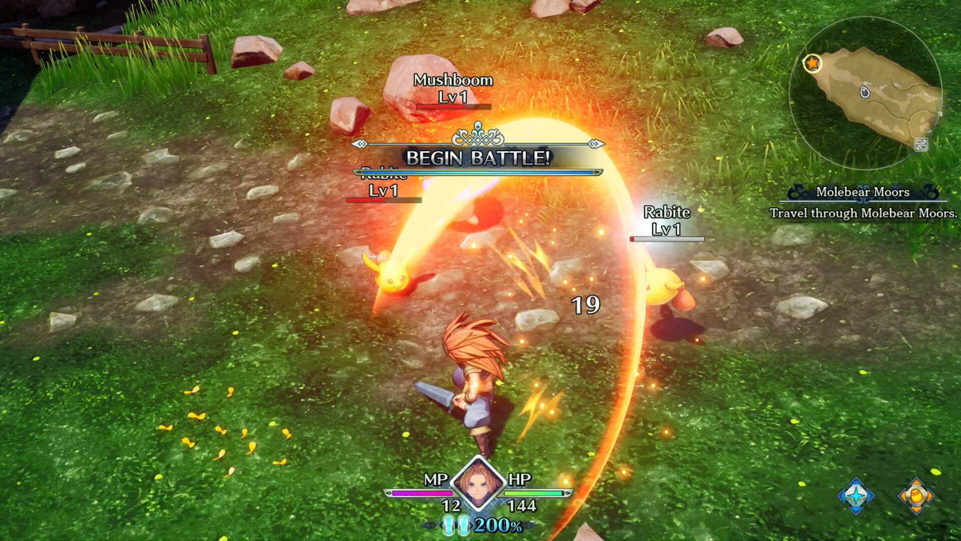 Trials of Mana Remake: Battle