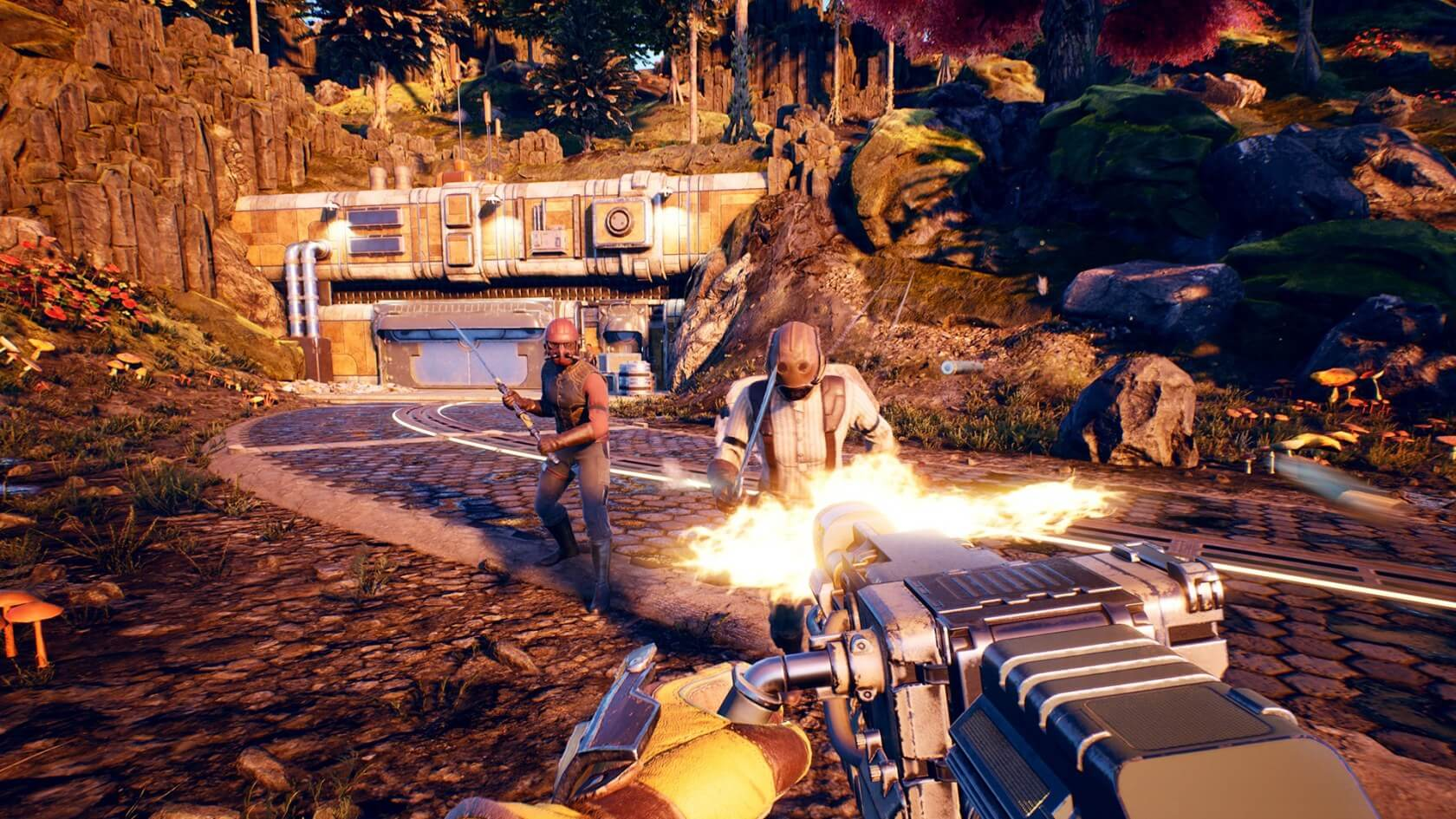 The Outer Worlds gameplay - Combat