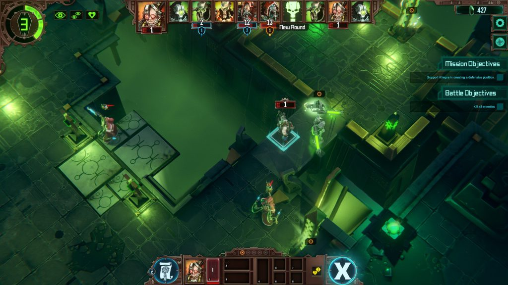Warhammer 40,000: Mechanicus on consoles