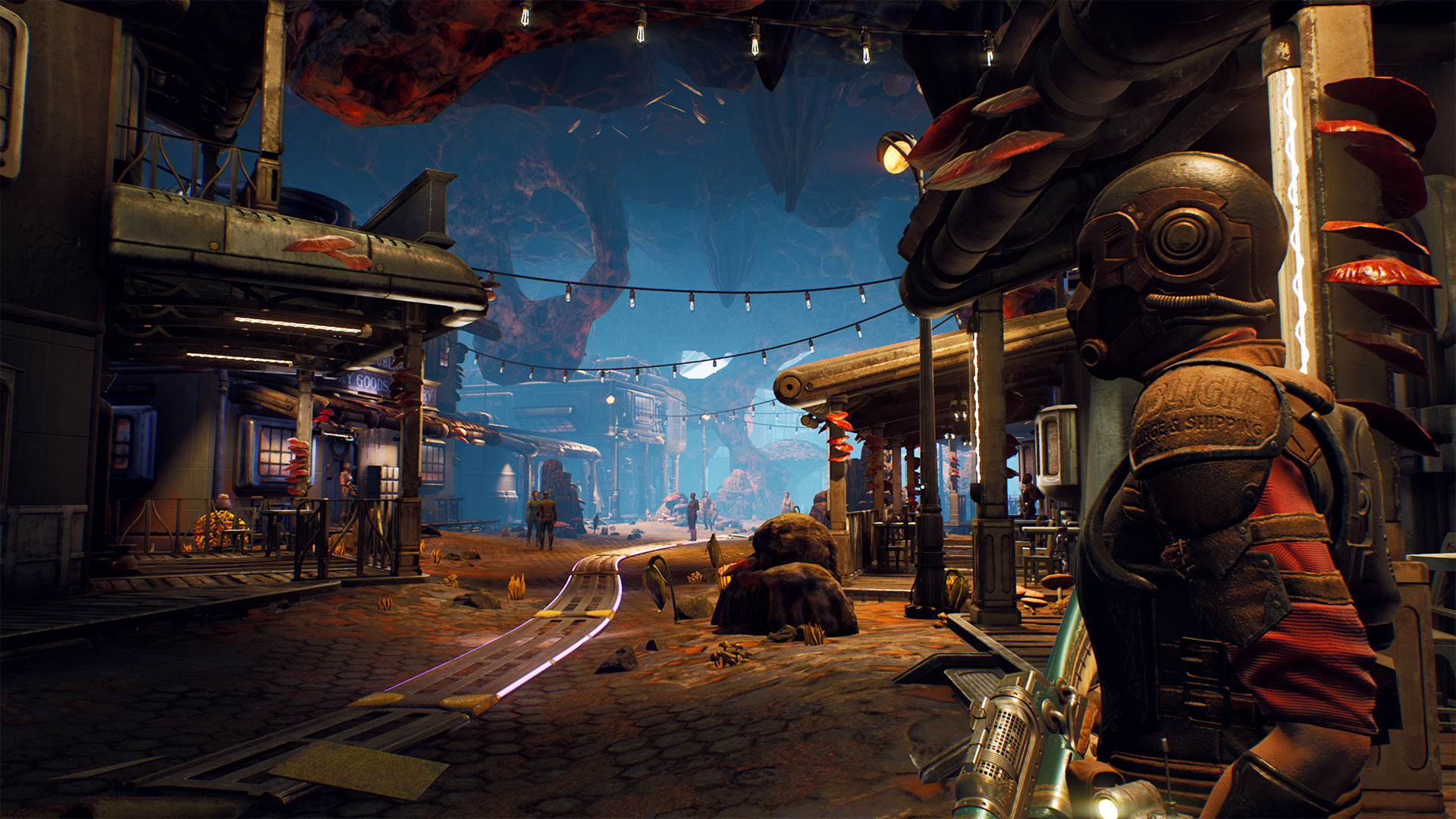 The Outer Worlds gameplay - Monarch