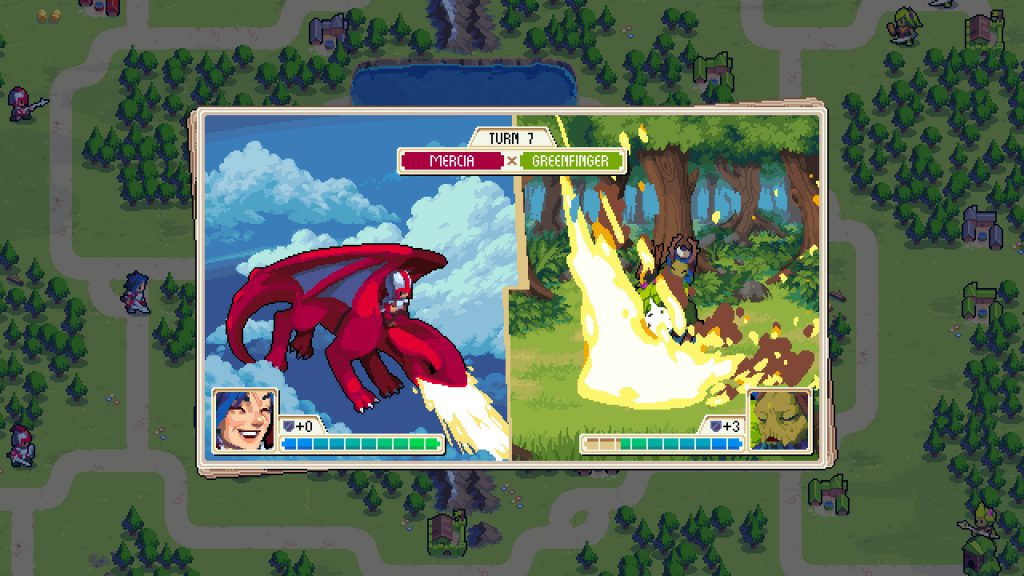 Wargroove review: Dragon fight