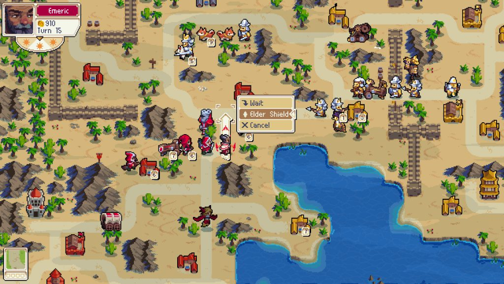Wargroove review: Using a Groove