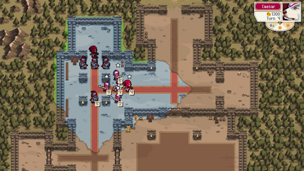 Wargroove review: Exploring Through the fog of war