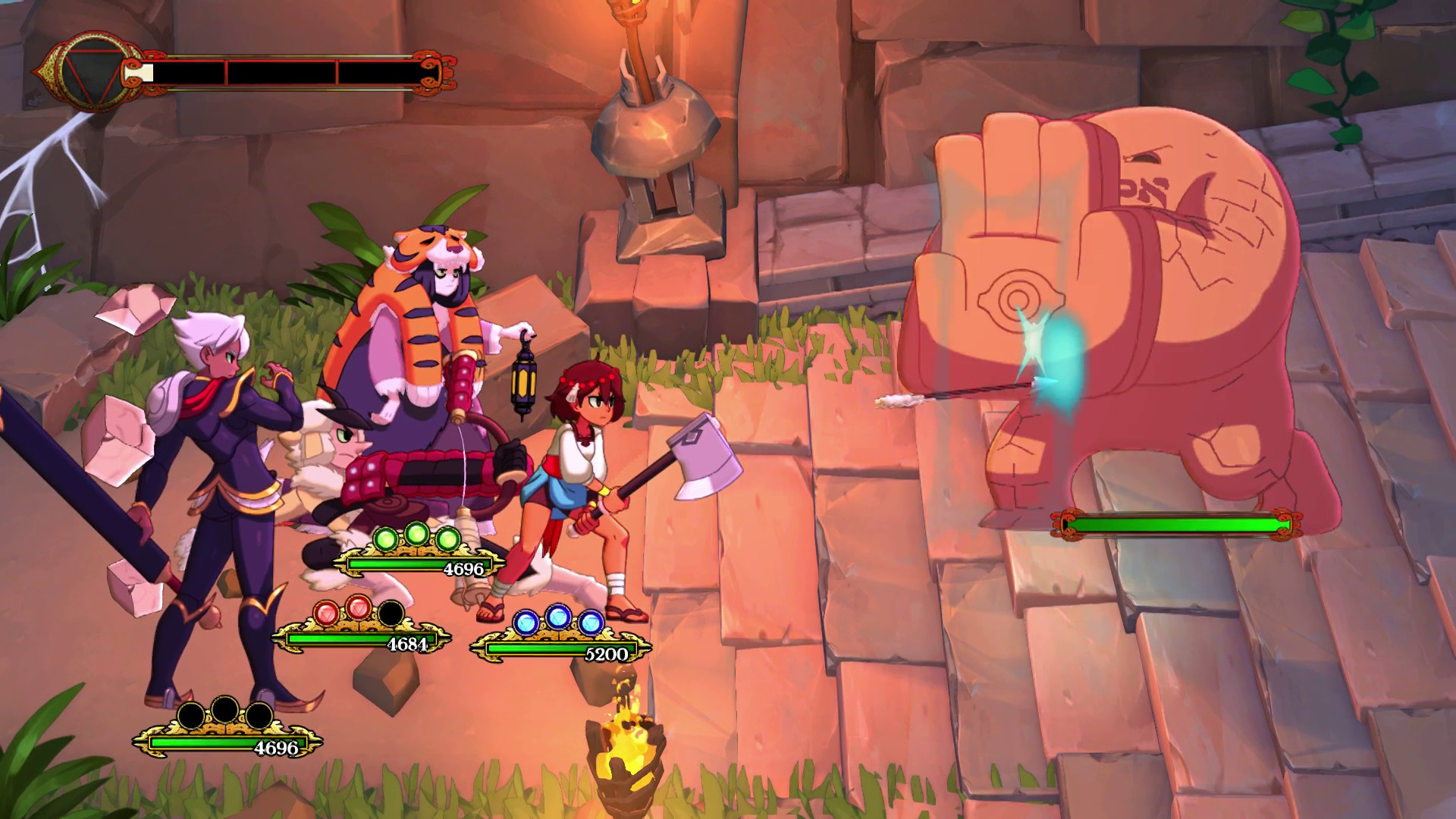 Indivisible review combat