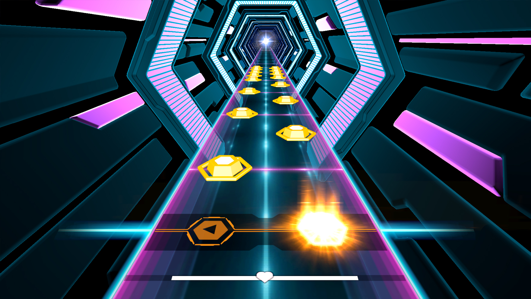 Hexagroove Guitar Hero minigame