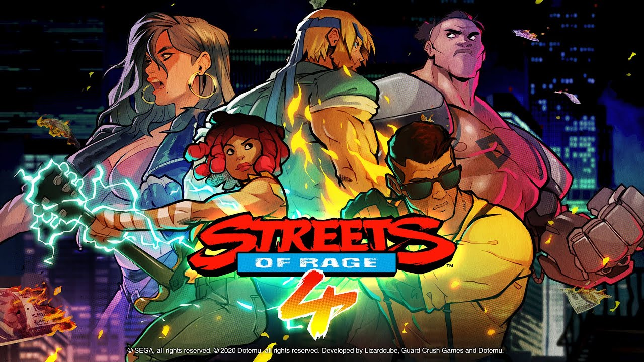 Streets of Rage 4 multiplayer
