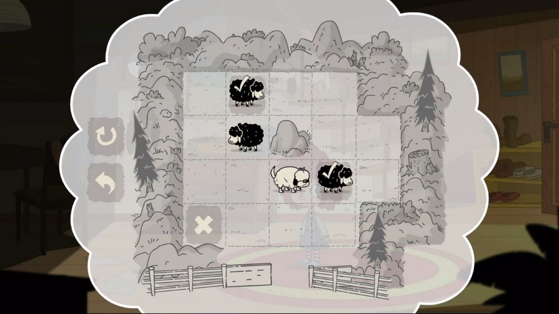 The puzzles are familiar, but retain the game's distinctive artistic direction